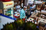 """Das """"Le Chef"""" bietet Hausmannkost zu erschwinglichen Preisen. Ein Konzept, das – wie so vieles in Beirut –, kaum noch aufrechtzuerhalten ist"""