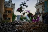 An manchen Stellen gleicht Beirut auch ein Jahr nach der Katastrophe noch einer Trümmerlandschaft