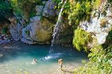 Krampež-Wasserfall