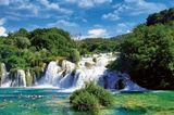 Krčić-Wasserfall, Kroatien