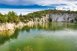 Drachenaugensee, Kroatien