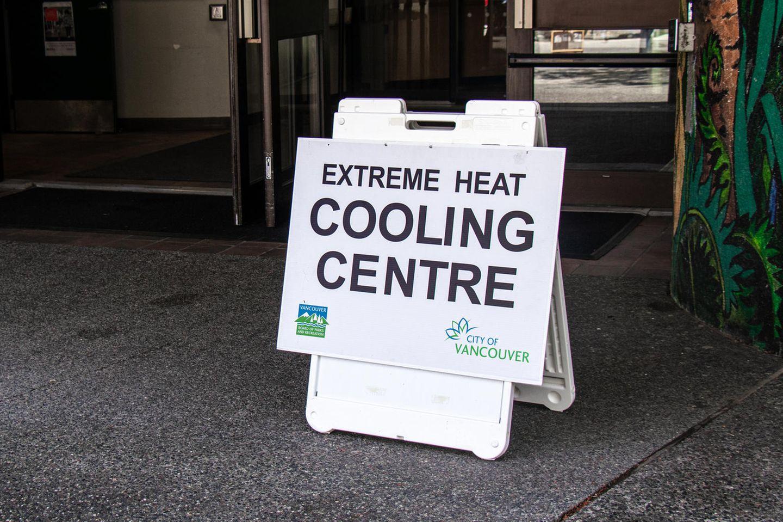Die kanadische Stadt Vancouver stellte wegen der extremen Hitze in Juni 2021 gekühlte Räume zur Verfügung