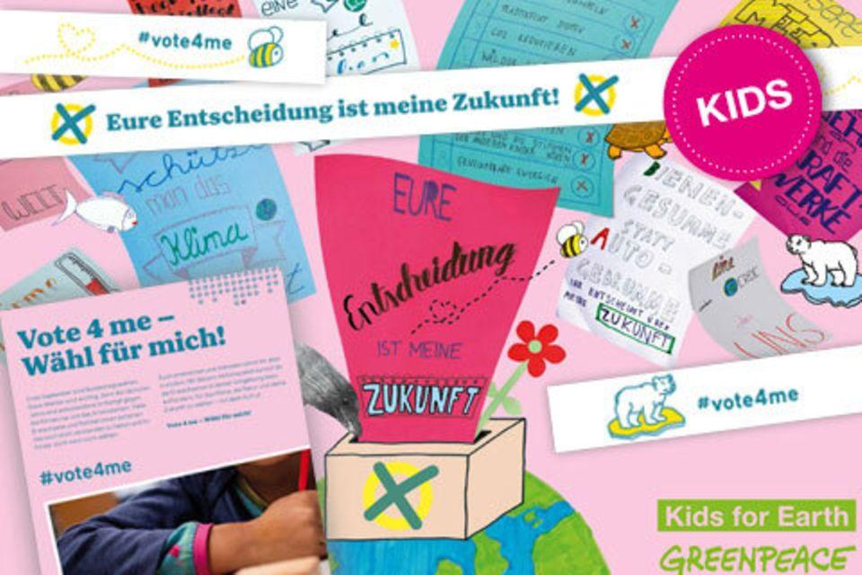 Aktion »Vote4Me - Wähl für mich!«