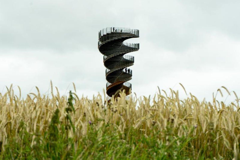 Der neue Marsk Tower in Südjütland