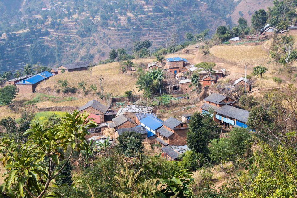 Das Dorf Danda Basaha