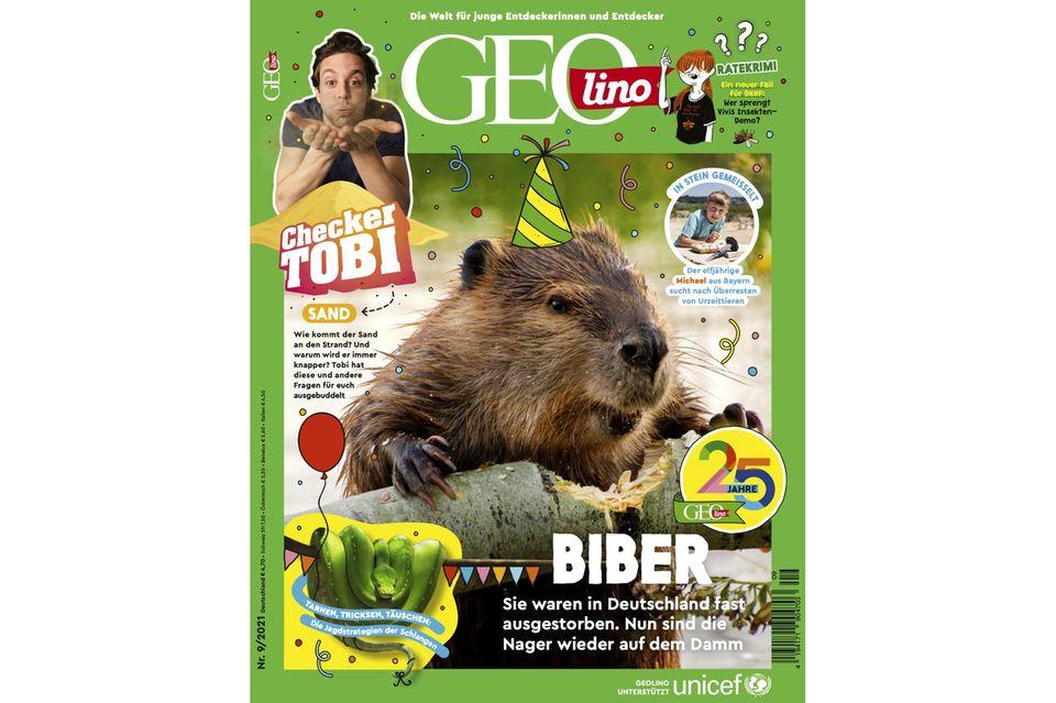 GEOlino Magazin Ausgabe 09-2021