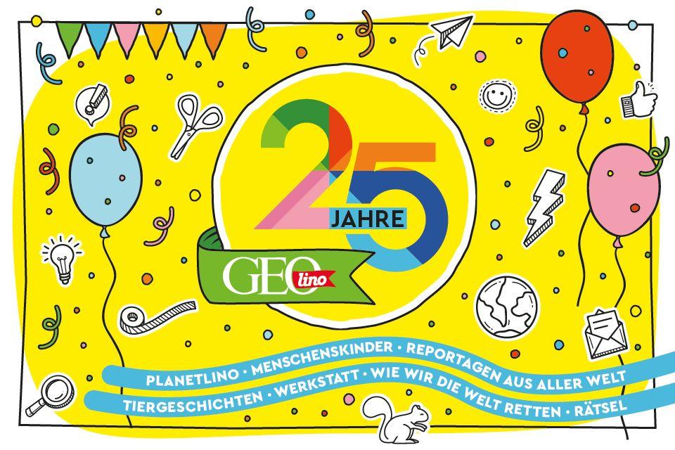 25 Jahre GEOlino