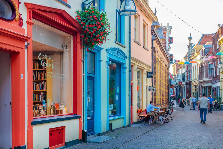 Einkaufsstraße in Deventer