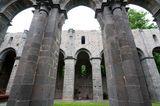 Blick auf die Kirchenruine Kloster Arnsburg bei Lich