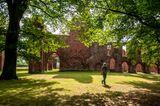 Blick auf das ehemalige Kloster Eödena in Greifswald