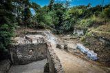 Grabanlage in der versunkenen Stadt Pompeji