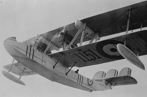 """Mit solchen Flugzeugen Typ """"Vickers Victoria"""" evakuiertdie britische Royal Air Force 1928/29 Diplomaten und deren Familien aus Kabul. 22 Passagiere finden in der Maschine Platz"""