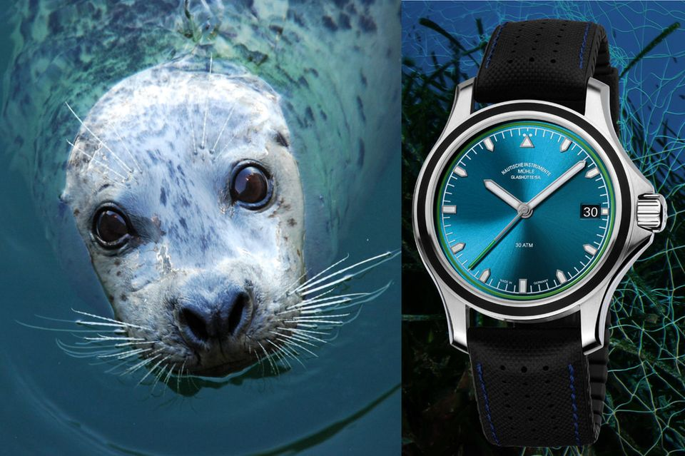 Spendenaktion: Unterstützen Sie den Kampf gegen die Geisternetze – mit der GEO-Charity-Uhr
