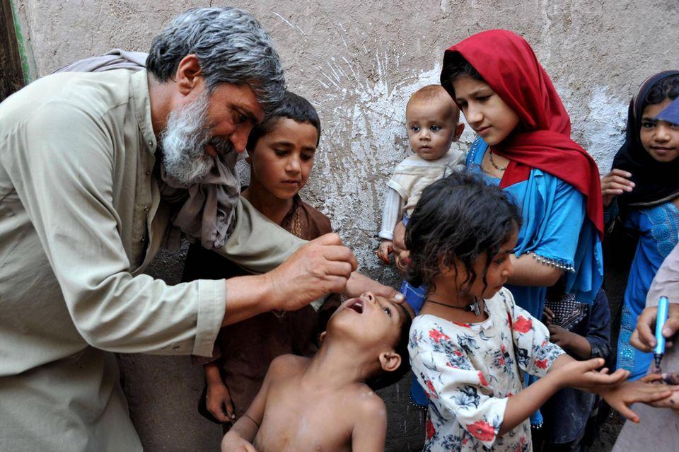 Polio-Impfung in Afghanistan: Warum der Vorstoß der Taliban dem Kampf gegen Kinderlähmung helfen könnte