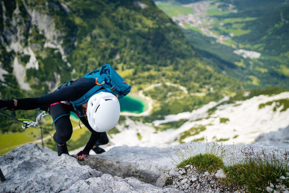 Klettersteige liegen im Trend - wichtig ist eine vernünftige Selbsteinschätzung