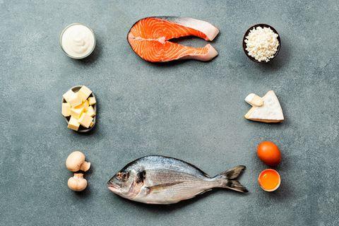 Tierische Lebensmittel sind wichtige Lieferanten von Vitamin D