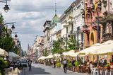 Piotrkowska Straße in Lodz