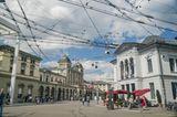 Blick auf die Cbb-Zugstation in Winterthur in der Schweiz