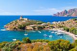 Bucht von Girolata im Naturschutzgebiet von Skandola, Korsika