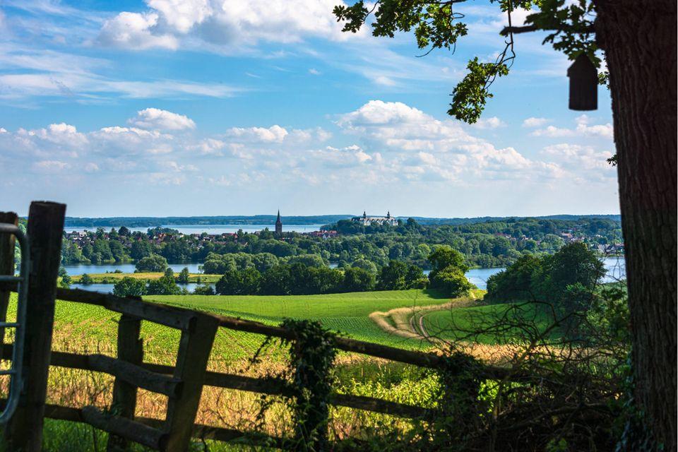 Der Große Plöner See ist das eiszeitlich geprägte Zentrum der Holsteinischen Schweiz