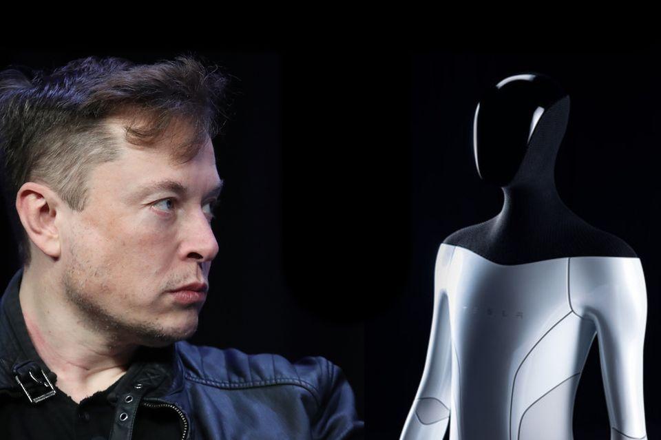 Humanoide Roboter: Will mit seinem Tesla Bot mal eben unsere Arbeitswelt revolutionieren: Elon Musk