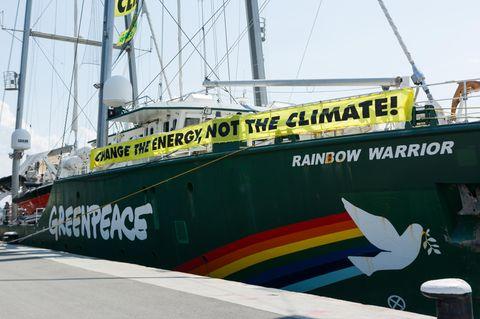 Schiff von Greenpeace