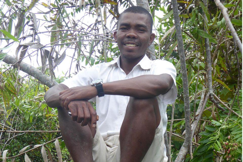 Der Madagasse Evrard Benasoavina konnte seinen Traum realisieren: einen Schulgarten für Kinder