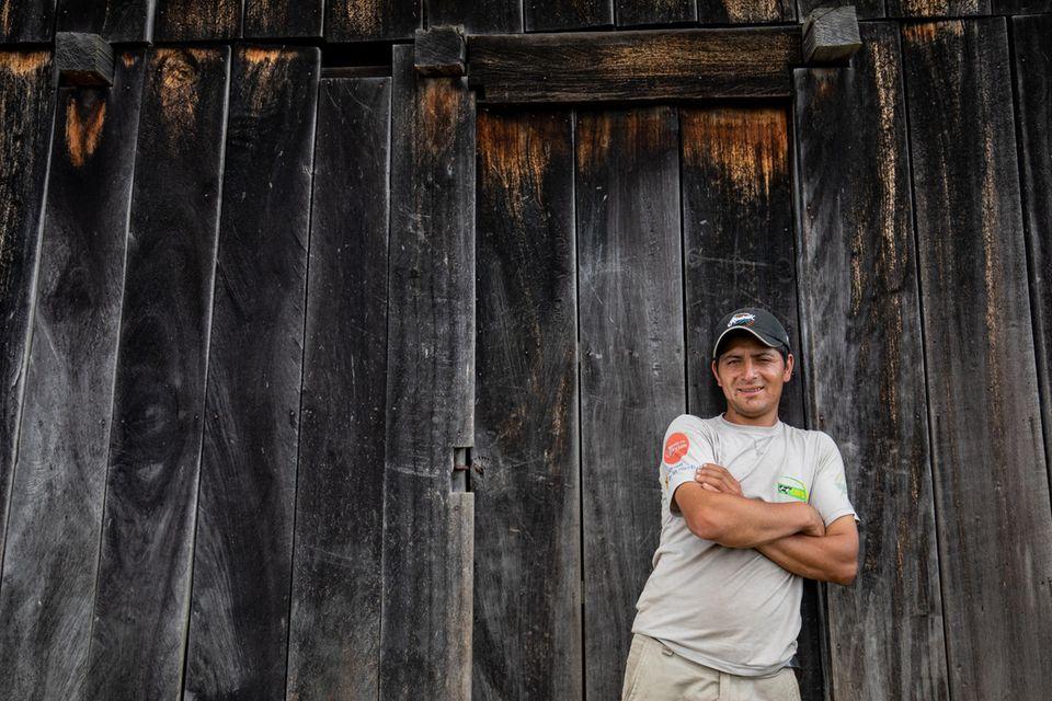 Edgar Rodriguez ist ein lokaler Experte für Aufforstungen