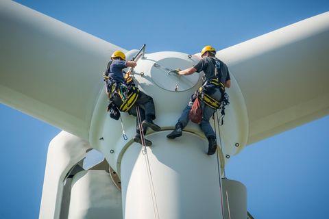 Um die Klimaziele zu erreichen, ist auch ein massiver Ausbau der Windkraft erforderlich