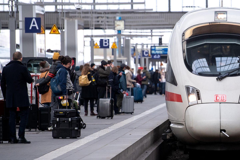 Angesichts zahlreicher Zugaufälle dürfte es in den kommen Tagen wegen des GDL-Streiks in den Zügen voll werden