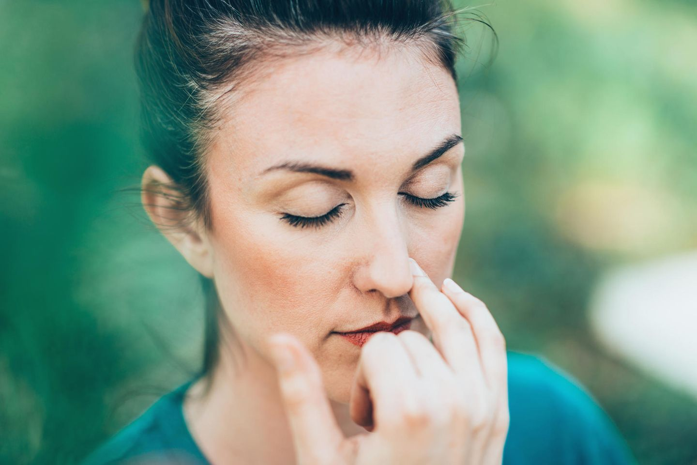 Atmen kann ein Weg sein, Stress loszulassen