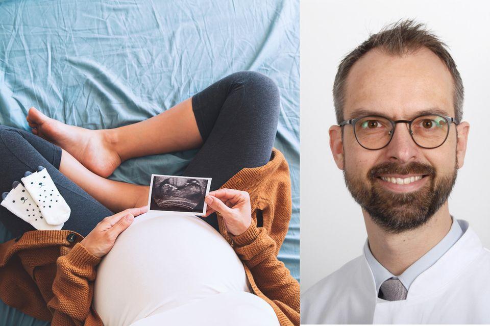 Prof. Dr. Ulrich Pecksleitet ein Register, das Daten zu Schwangeren und Covid-19 sammelt