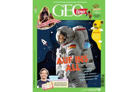 GEOlino Magazin Ausgabe 10-2021