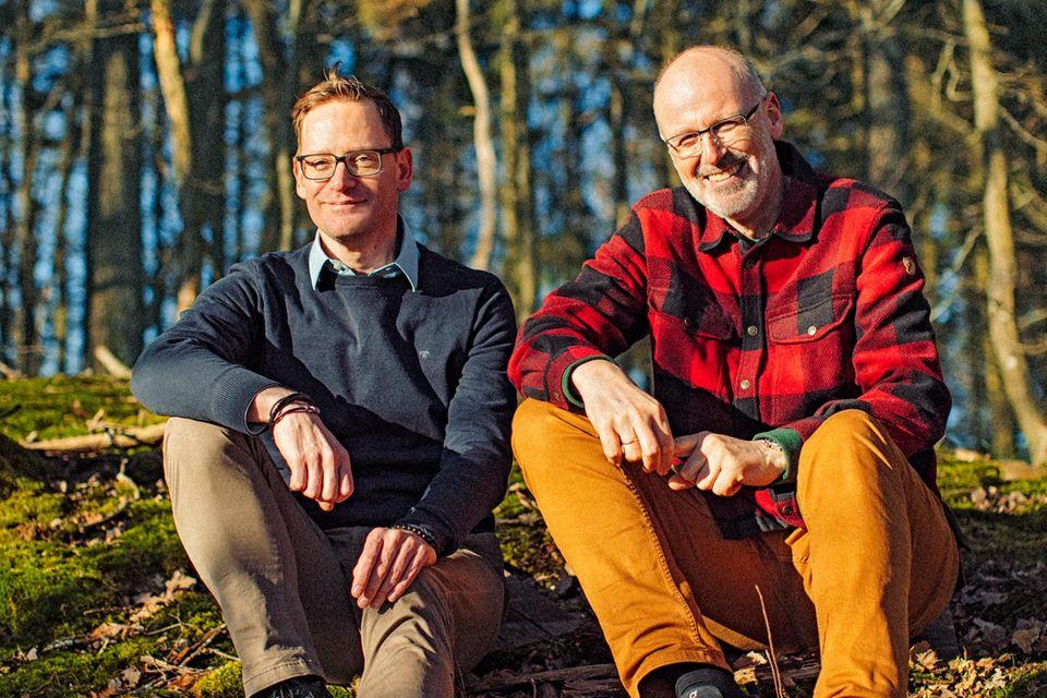 Peter Wohlleben und Rainer Harf