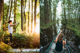 Viele griffen zum SUP oder Kanu und erkundeten die traumhafte Natur der Mecklenburgischen Seenplatte – in einemgeführten SUP-Kursmit Christoph Krahe von @paddelbrett oder auf eigene Faust