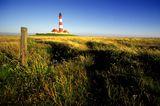Leuchtturm von Westerhever in Schleswig-Holstein