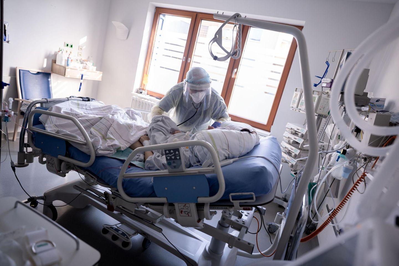 Intensivstation im Krankenhaus Bethel Berlin