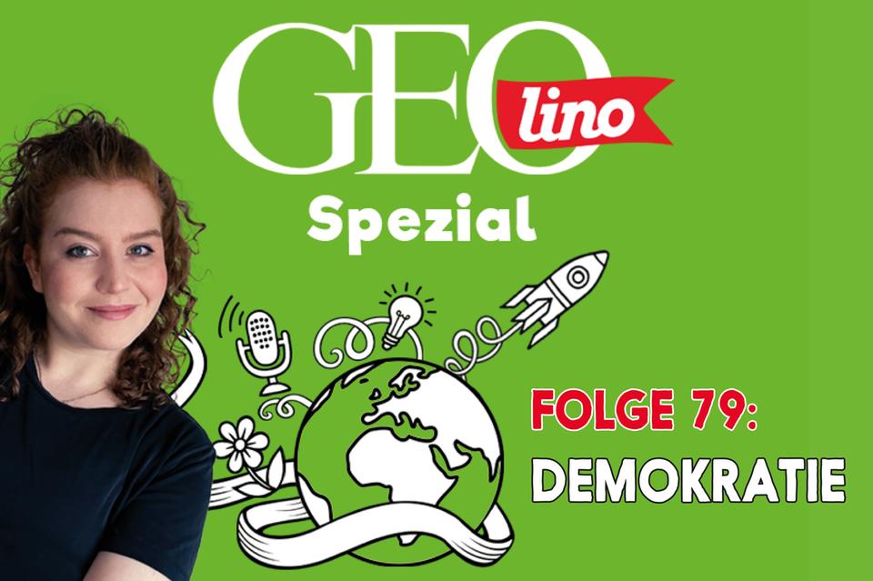 In Folge 79 unseres GEOlino-Podcasts geht es um unsere Demokratie