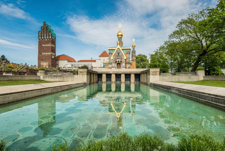 Russich othodoxe Kirche und der Hochzeitsturm
