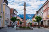 Altstadt von Murnau in Oberbayern