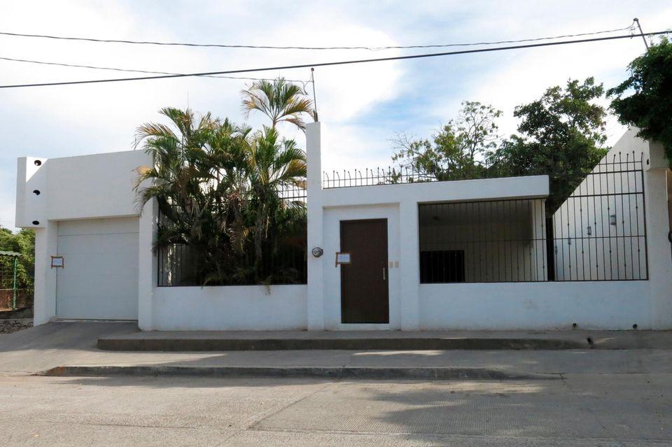 "Ehemaliges Haus des Drogenbosses ""El Chapo"" in Culiacan, Mexiko"