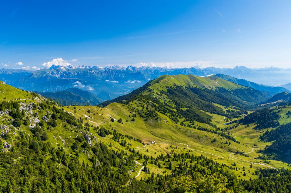 Ausblick auf den Monte Grappa