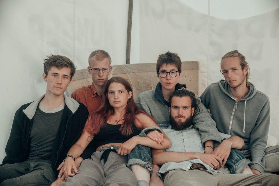 Henning, Rumen, Mephisto, Lina, Jacob und Simon