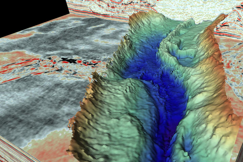 Geografie : Forscher vermessen gewaltige Urzeit-Canyons in der Nordsee – um so in die Zukunft zu blicken