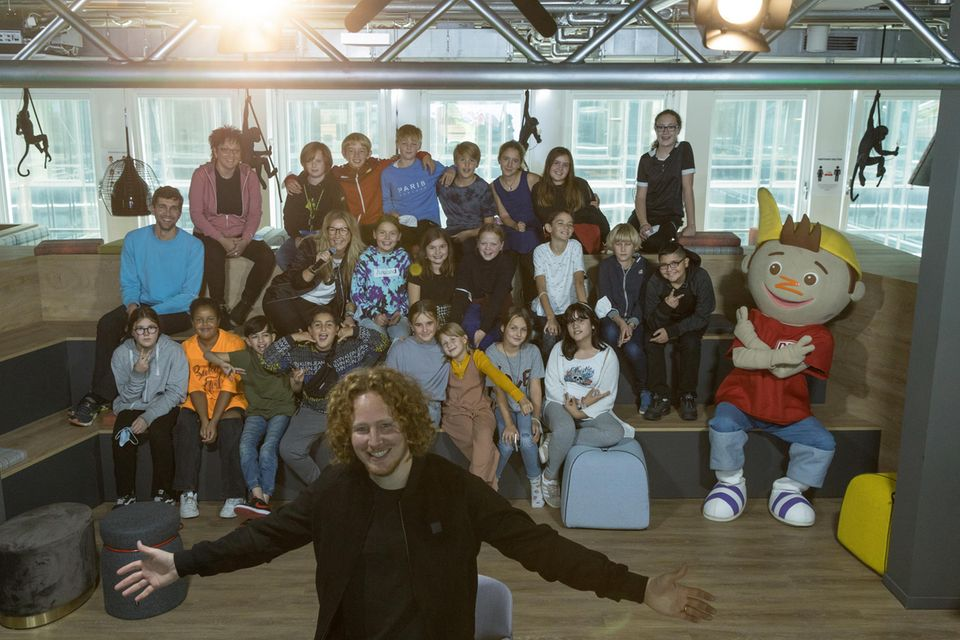 Michael Schulte bei GEOLINO LIVE on tour