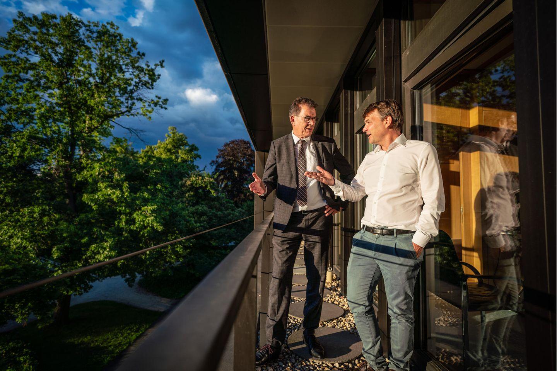Gerd Müller und Jens Schröder