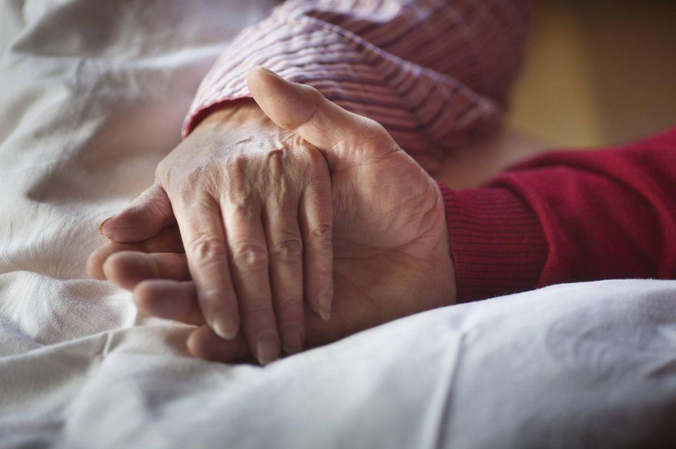 Am Lebensende das Sterben würdevoll begleiten und Schmerzen lindern: Das ist Aufgabe der Palliativmedizin