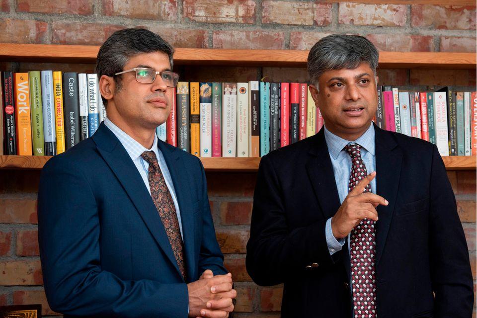 Ritwick Dutta (r.) und Rahul Chowdhury (.)