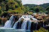Skradinski Buk Wasserfall im Krka-Nationalpark