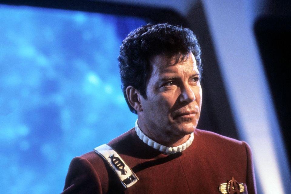 William Shatner als Captain Kirk